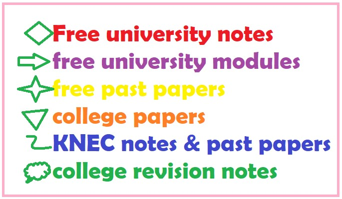 Read more about the article Kenyatta University Module Notes and Past Papers