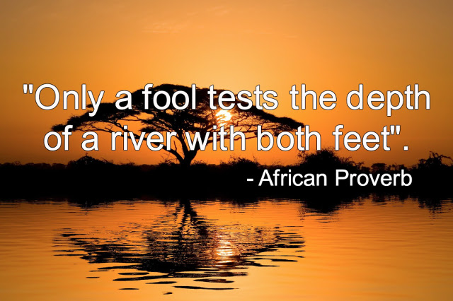 Read more about the article List of African Proverbs