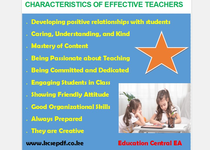 Read more about the article 10 Characteristics of an Effective Teacher