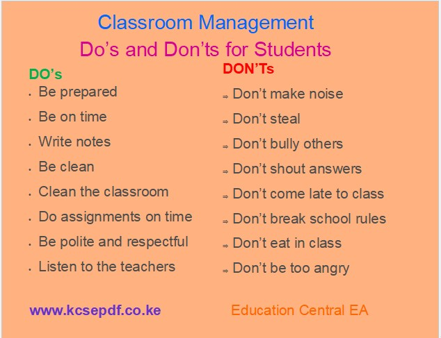 Read more about the article Top 10 Classroom Do's and Don'ts for Students