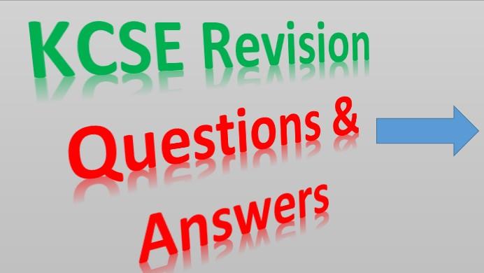 Read more about the article KCSE Revision Materials – KCSE Past Papers, Form 1 – 4 Revision, KCSE Prediction, Set Books, etc