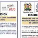 TSC internship recruitment 2021